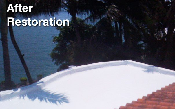 Flat Roof restoration miami