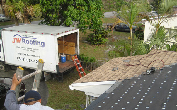Shingle Roof Miami