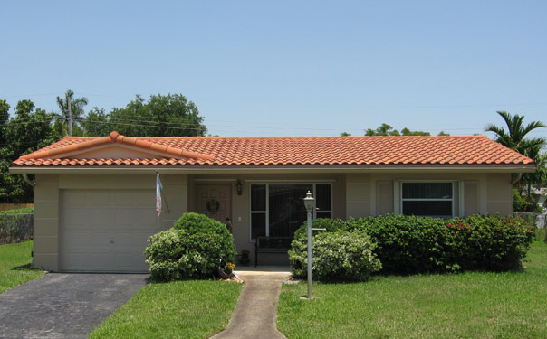 Jw roofing tile roofing spanish s concrete roof tile for Concrete homes florida